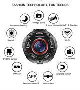 Introducing New Technology Action 4k camera wrist watch with waterproof in Hemet, California