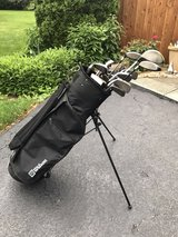 golf clubs and bag in Chicago, Illinois