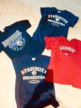 4 Atascocita Orchestra Shirts Youth L Adult S Great Condition in Kingwood, Texas