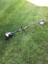 Craftsman straight shaft weed eater starts and runs need little work in Naperville, Illinois