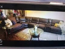 Living room Leather Sectional Set and Electric Recliner in Oceanside, California