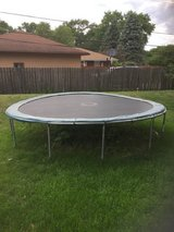 15' trampoline in Chicago, Illinois