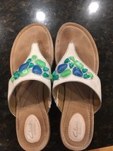 size 10 women's Clark's sandals in Naperville, Illinois