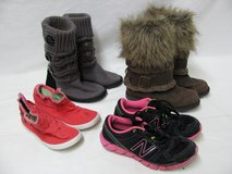 Lot 0f 4 Pairs Teen Boots and Shoes MUK LUK Blowfish New Balance Size 6 in Fort Campbell, Kentucky