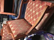 Rolling Chairs Wooden & Fabric-6 in Wilmington, North Carolina