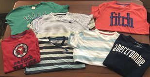 Lot of Boy's Abercrombie Shirts (7) in Kingwood, Texas