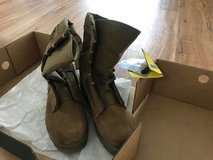 Steel toe Combat boots size 8.5r in Okinawa, Japan
