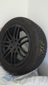 4 Michelan Alpin Tires (Winter) and Rims (possibly for an XC70) in Stuttgart, GE