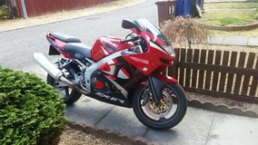 KAWASAKI NINJA 600cc  ZX6R 1999 YEAR MOT in Lakenheath, UK