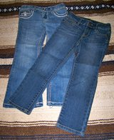 2 Girl's Jeans, Sz 5, Lucky Brand & Cherokee, Skinny & Boot Cut in Alamogordo, New Mexico