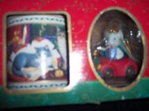 Collectible Cat Mug and Mouse Ornament New in Box in Alamogordo, New Mexico