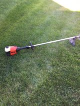 Craftsman straight shaft weed eater starts with starting fluid needs a little work in Yorkville, Illinois