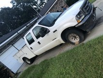 02 f-350 7.3 international with work bed and ladder rack in Hinesville, Georgia