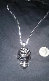 Skull Necklace in Wilmington, North Carolina