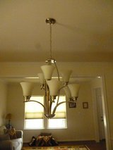 Overhead lights and chandelier in Quantico, Virginia