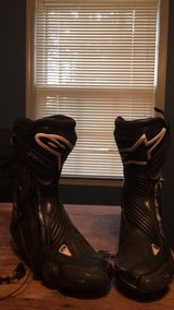 alpinestars smx plus riding boots size 10 in Fort Bragg, North Carolina