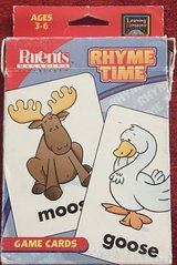 Learning Resources Rhyme Time Game Cards in Okinawa, Japan
