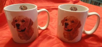 two new very large Golden Retriever tea/coffee cups in Spring, Texas