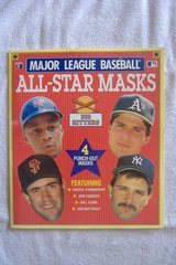 1990 MLB All-Star Masks in 29 Palms, California