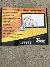 "Double Din 7"" DVD Player(touch screen) in Fort Riley, Kansas"