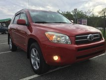 Red 2007 Toyota RAV4 Limited AWD in Providence, Rhode Island