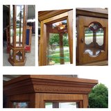Four Sided Display Case in Naperville, Illinois