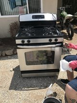Gas stove in Yucca Valley, California