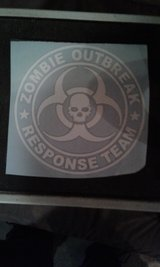 Zombie Outbreak Decal in Wilmington, North Carolina