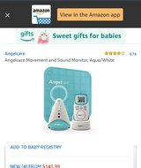 Angelcare Movement & Sound Monitor in Hopkinsville, Kentucky