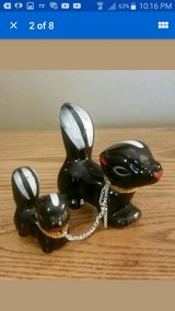 Vintage Skunk Family Figurines in Fort Leonard Wood, Missouri