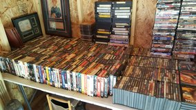 1000 of DVD and VHS in 29 Palms, California
