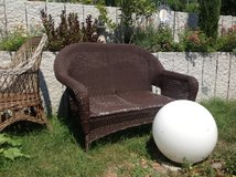 PVC wicker garden furniture in Stuttgart, GE