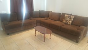 Sectional Couch and tables in 29 Palms, California