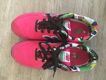 New Balance 574's hot pink in Spangdahlem, Germany
