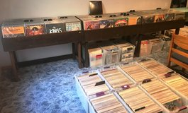 Are you looking to move your vinyl records/albums/lp's, CD's, and/or cassettes?  I will buy them, in Plainfield, Illinois
