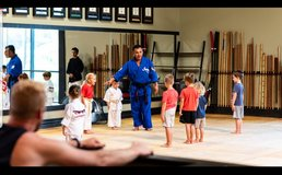 Karate and fitness training in Camp Pendleton, California