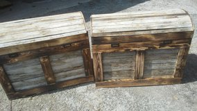 Custom Trunks 100+ year old wood in Chicago, Illinois