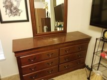 Large dresser with mirror and two small dressers in Tacoma, Washington