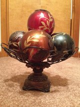 Decorative balls/bowl in Fort Campbell, Kentucky