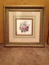 Framed flower picure in Fort Campbell, Kentucky
