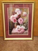 Framed flower picture20 in Fort Campbell, Kentucky