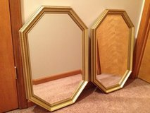 2 octagon mirrors in Fort Campbell, Kentucky
