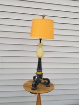 Old fashion-brown lamp in Fort Knox, Kentucky
