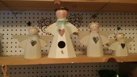 Wooden Angels in Baytown, Texas