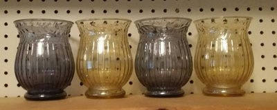 Purple & Gold Vases in Pearland, Texas
