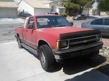 91 chevy s10 4x4 3.4 in Nellis AFB, Nevada