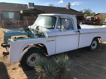 Dodge truck in Yucca Valley, California