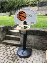 Little Tykes basketball hoop in Ramstein, Germany