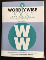Wordly Wise Book 9 in Fort Leonard Wood, Missouri