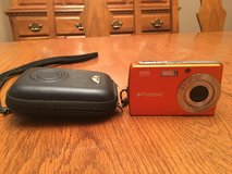 Polaroid orange digital camera with case in Fort Campbell, Kentucky